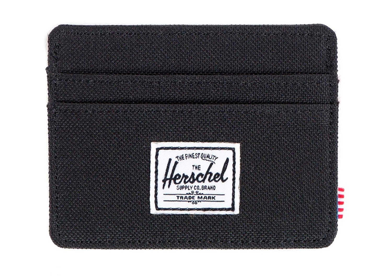 Herschel Supply Co. Mens Charlie Card Holder - Black