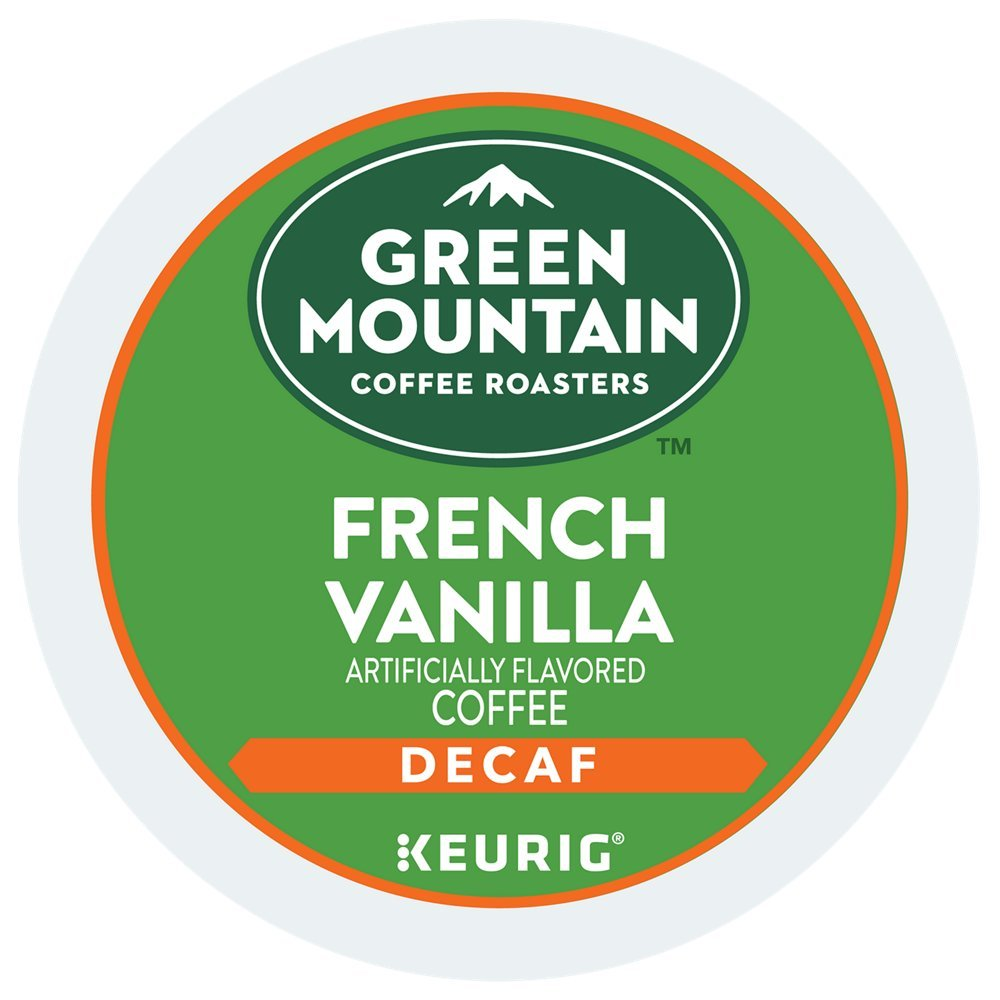 Green Mountain French Vanilla Decaf Coffee Keurig K-Cup packs 48-Count